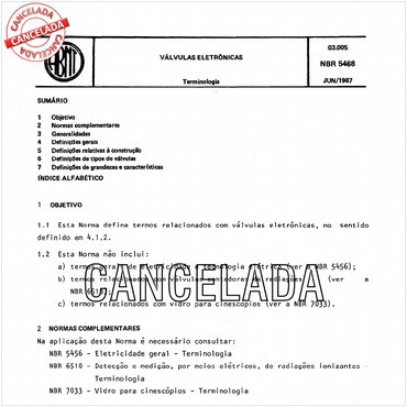 NBR5468 de 06/1987