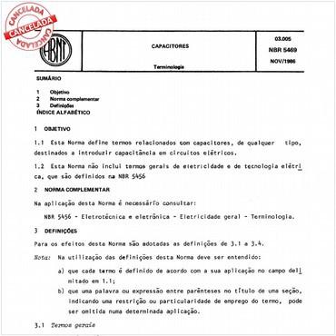 NBR5469 de 11/1986