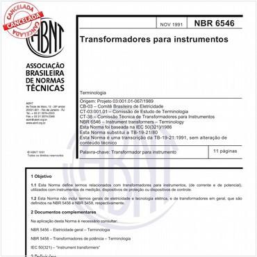 NBR6546 de 11/1991