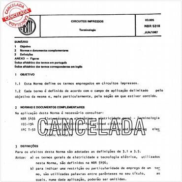 NBR5318 de 06/1987