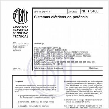 NBR5460 de 04/1992