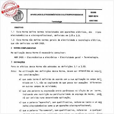 NBR6514 de 04/1986
