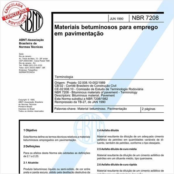 NBR7208 de 09/2017