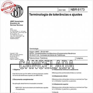NBR6173 de 12/1980