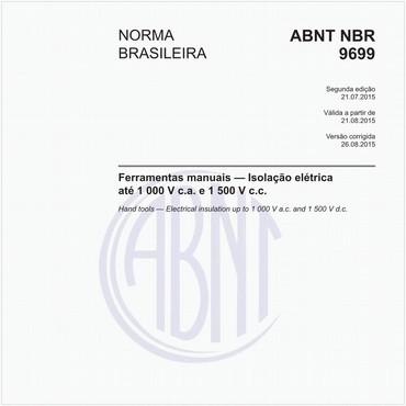 NBR9699 de 07/2015