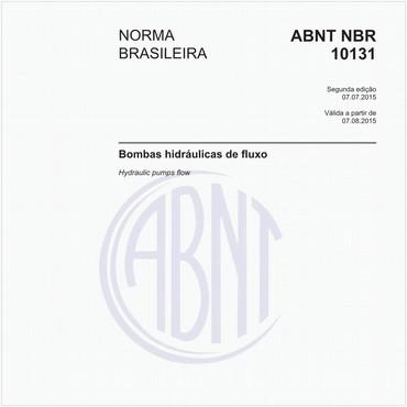 NBR10131 de 07/2015