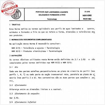NBR6362 de 03/1982