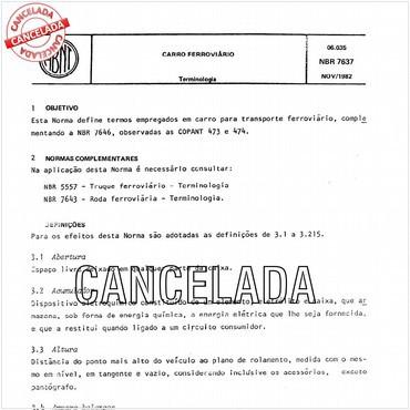 NBR7637 de 11/1982