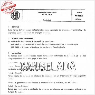NBR6878 de 09/1981