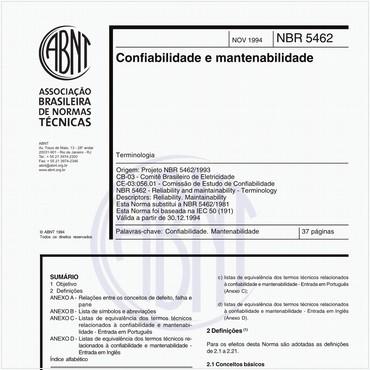 NBR5462 de 11/1994