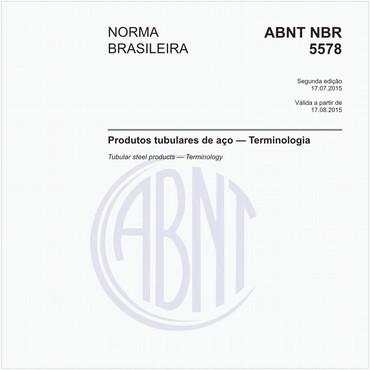 NBR5578 de 07/2015