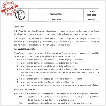 NBR6573 de 01/1985