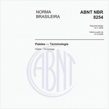 NBR8254 de 11/2008