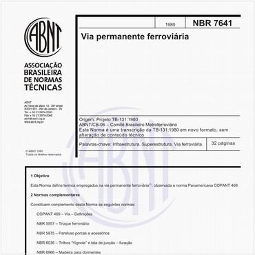 NBR7641 de 1980