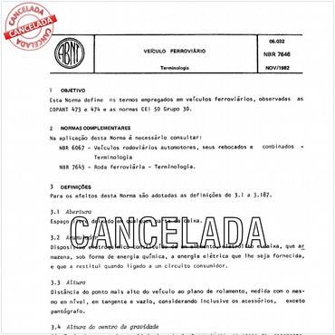 NBR7646 de 11/1982