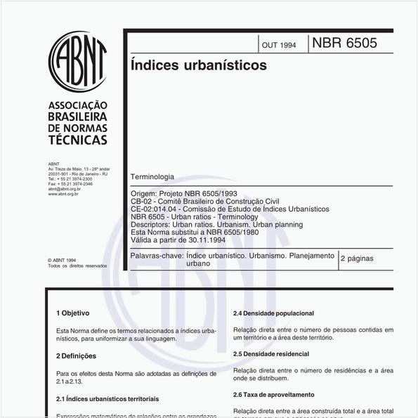 NBR6505 de 10/1994