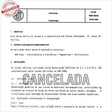 NBR6545 de 03/1980