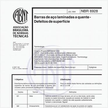 NBR6928 de 07/1994