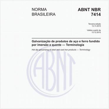 NBR7414 de 11/2015