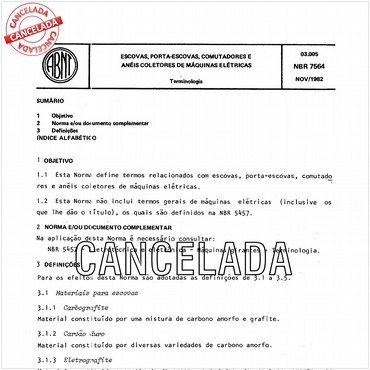 NBR7564 de 11/1982