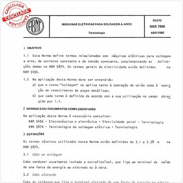NBR7859 de 04/1983