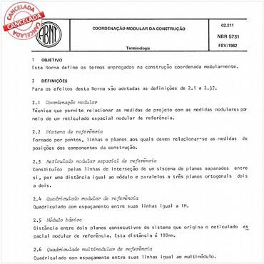 NBR5731 de 02/1982