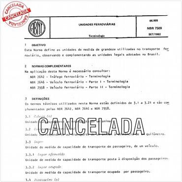 NBR7509 de 09/1982