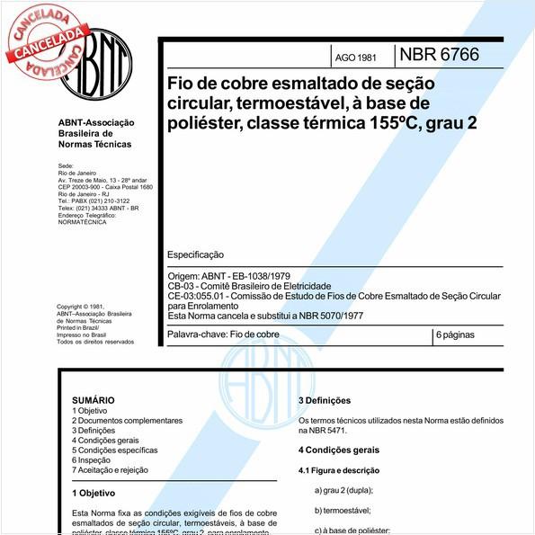 NBR6766 de 10/2012