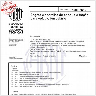 NBR7510 de 09/1987