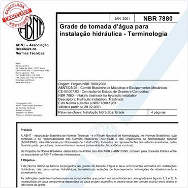 NBR7880 de 01/2001