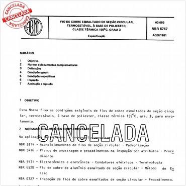 NBR6767 de 08/1981