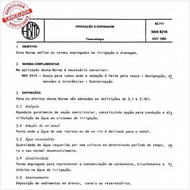 NBR8216 de 10/1983