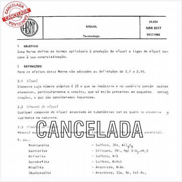 NBR8317 de 12/1983