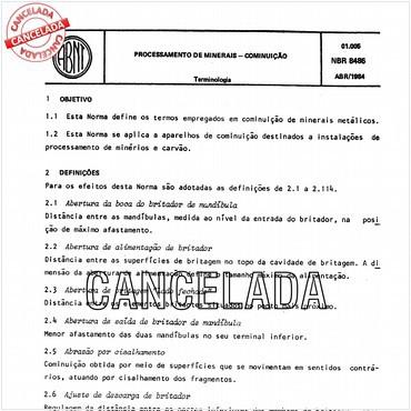 NBR8486 de 04/1984