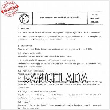 NBR8487 de 04/1984
