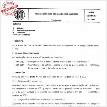 NBR9525 de 09/1986