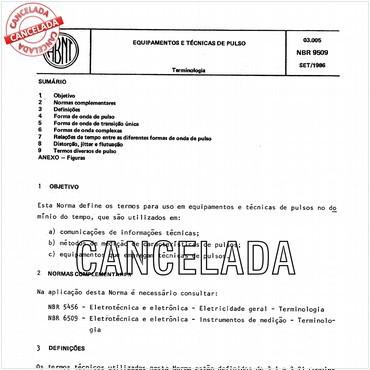 NBR9509 de 09/1986