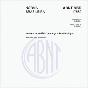 NBR9762 de 03/2012