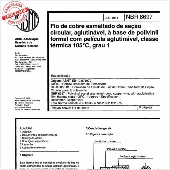 NBR6697 de 10/2012