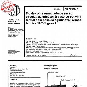 NBR6697 de 07/1981