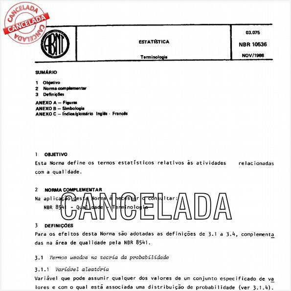 NBR10536 de 05/2010