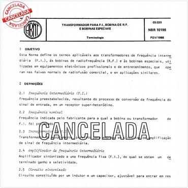 NBR10198 de 02/1988
