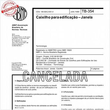 NBR10820 de 06/1989