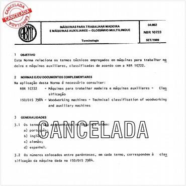 NBR10723 de 09/1989