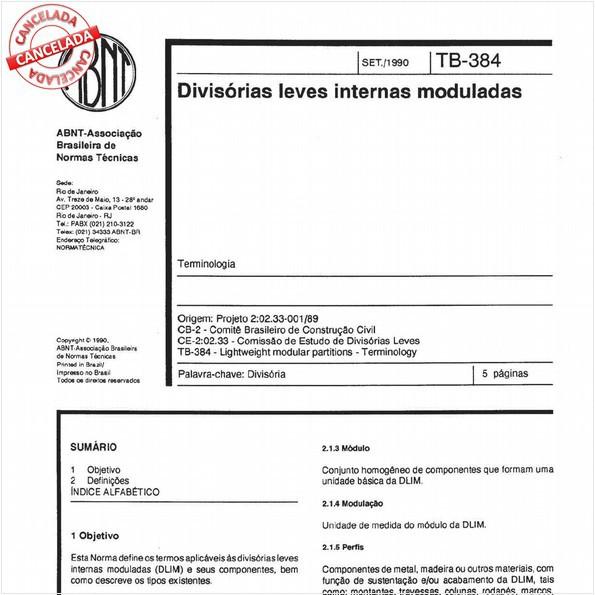 NBR11685 de 07/2015