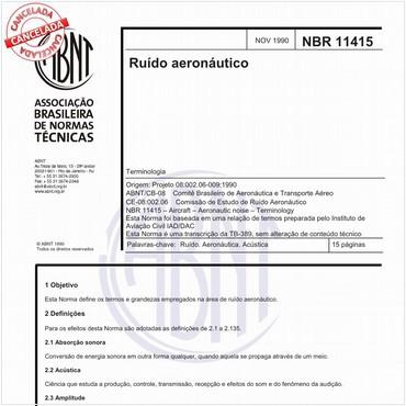 NBR11415 de 11/1990
