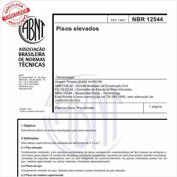 NBR12544 de 07/2015