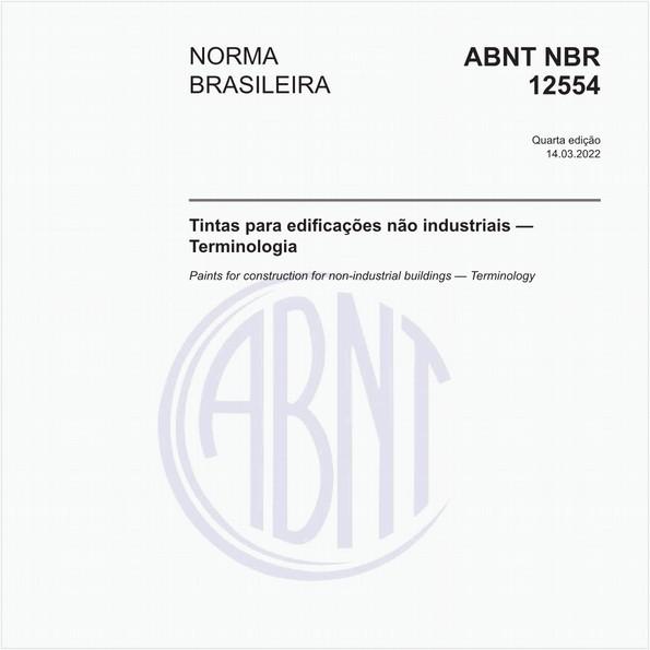 NBR12554 de 08/2013