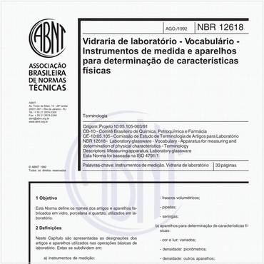 NBR12618 de 08/1992