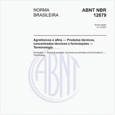 NBR12679 de 12/2018
